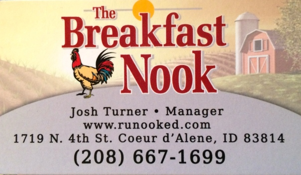 Breakfast Nook Info